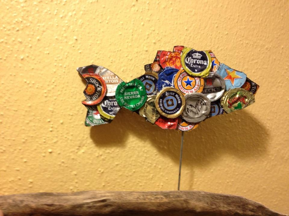 Beer Cap Fish